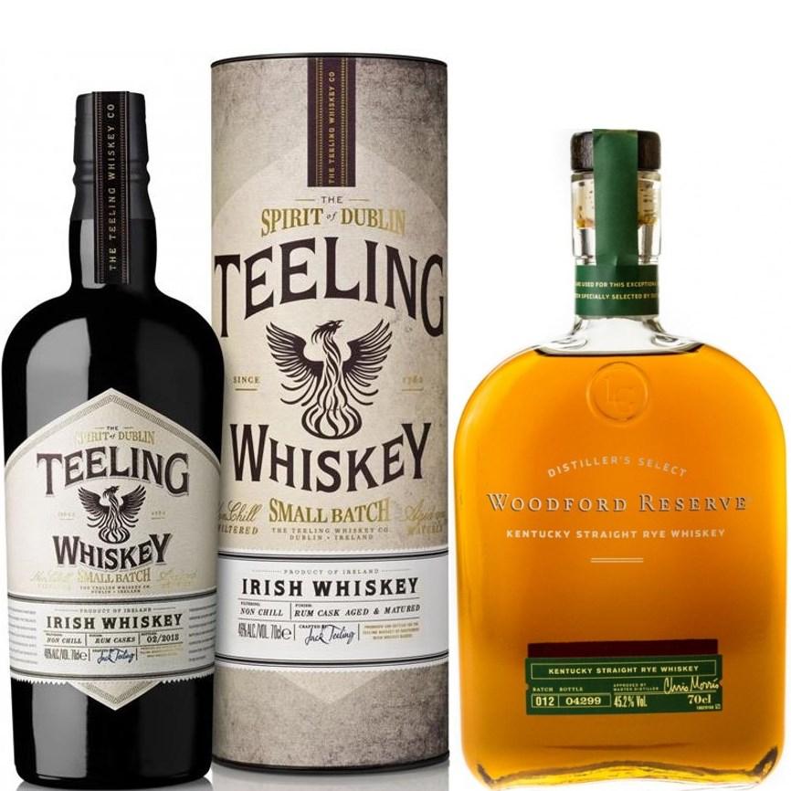 Whisky-Übersicht #38: z.B. Teeling Small Batch Rum Cask Whiskey für 20,52€, Woodford Reserve Kentucky Straight Rye für 34,02€ inkl. Versand