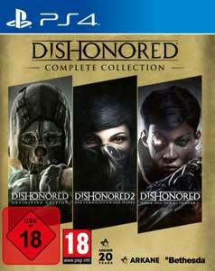 Dishonored - Complete Edition (PS4) für 26,18€ (Müller Abholung)