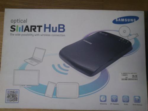 SAMSUNG Smart Media Hub SE-208BW, schwarz [AUT Lokal]