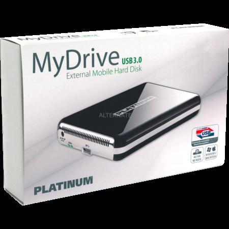 """4TB Festplatte extern USB 3.0 4TB - Platinum""""MyDrive"""" @ ZackZack für 166,85"""