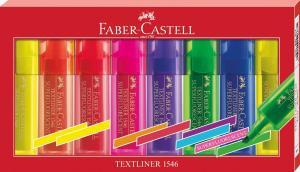 Faber-Castell Textmarker Textliner, 8-er Etui für 2,63€ (Müller Abholung)