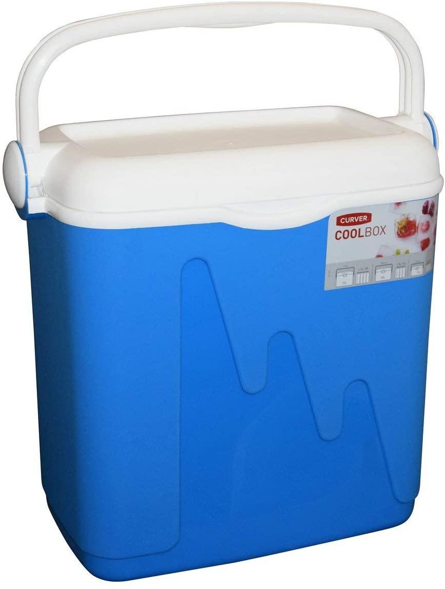 Curver Kühlbox 20 Liter (430 x 230 x 390 mm, ohne Kühlakkus)