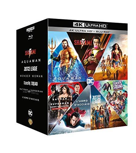 DC Comics Boxset mit 7 Filmen (4K Blu-ray + Blu-ray) für 45,13€ inkl. Versand (Amazon.it)