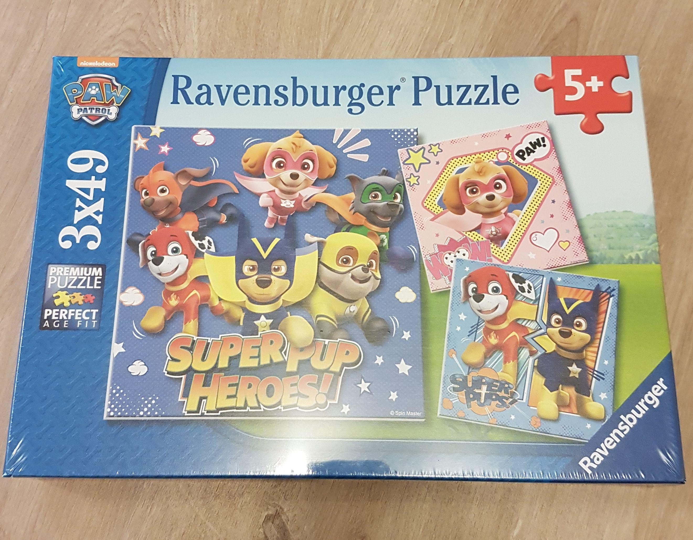 Ravensburger Puzzle Paw Patrol (8036) 3x49 Teile ab 5 Jahre mit Prime