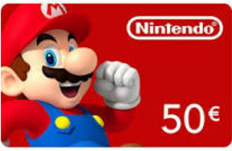 Nintendo Eshop Guthaben 50 EUR [Gamivo, EU Konto]