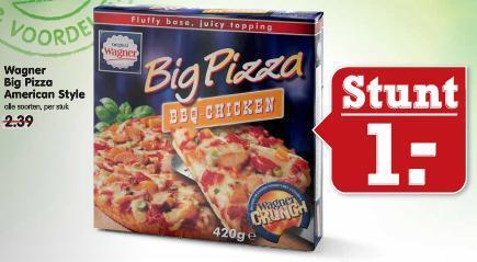 [Lokal, NL] Emté - Wagner Big Pizza für 1,00 Euro