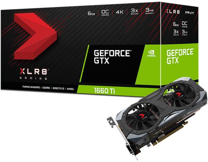 PNY GeForce GTX 1660 Ti XLR8 Gaming OC Limited Edition 6GB GDDR6 PCI Express x16 3.0