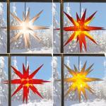 Adventsstern für außen incl. Trafo und Beleuchtung 65 cm ALDI/Nord