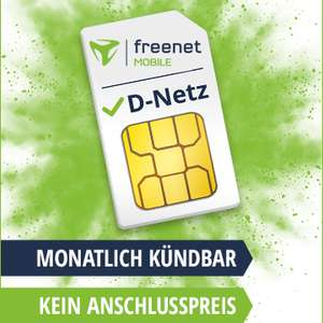 [VF-Netz] freenet mobile mit 0€ AP + mtl. kündbar: z.B. Allnet + SMS-Flat & 8GB LTE (13,99€) oder 14GB LTE (16,99€) oder Datenflats