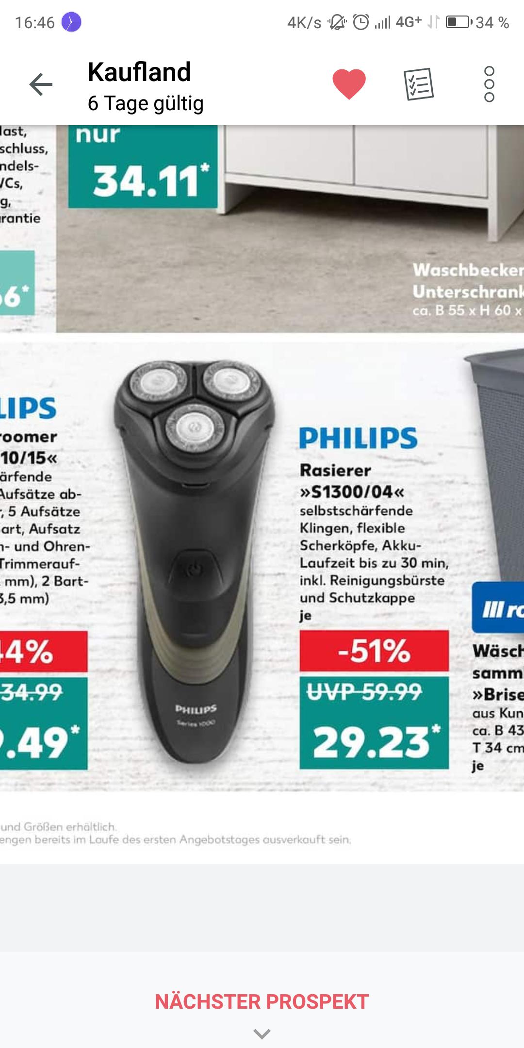 Philips Rasierer Angebote ⇒ Jetzt günstig kaufen