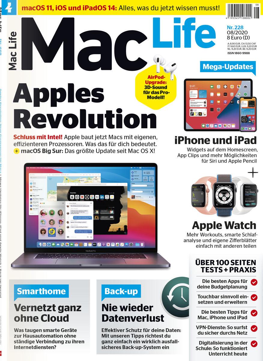 [Mac Life] aktuelle Ausgabe kostenlos bestellen