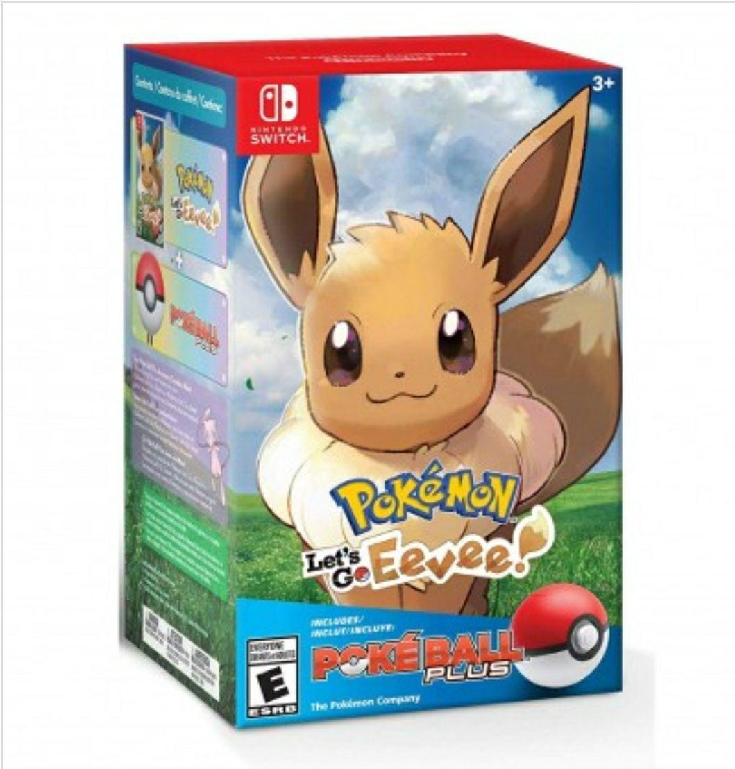 Pokemon: Let's Go, Evoli! + PokeBall Plus Pack (Englisch) für Nintendo Switch