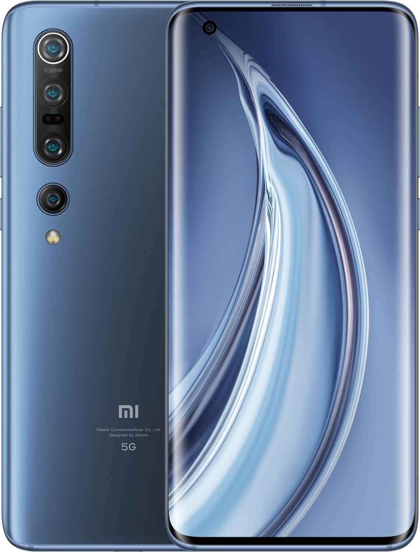 """Xiaomi Mi 10 Pro 6.67"""" Smartphone (256GB, 8GB RAM, USB-C, NFC, 802.11ax, SD865) solstice grey"""