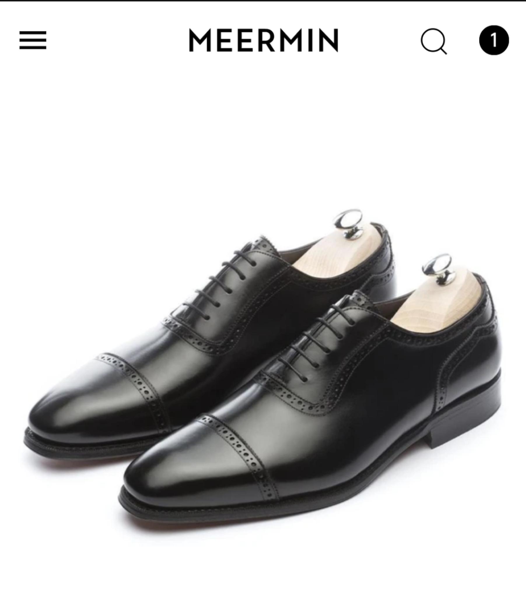 Meermin Schuhe Summer Sale -25%