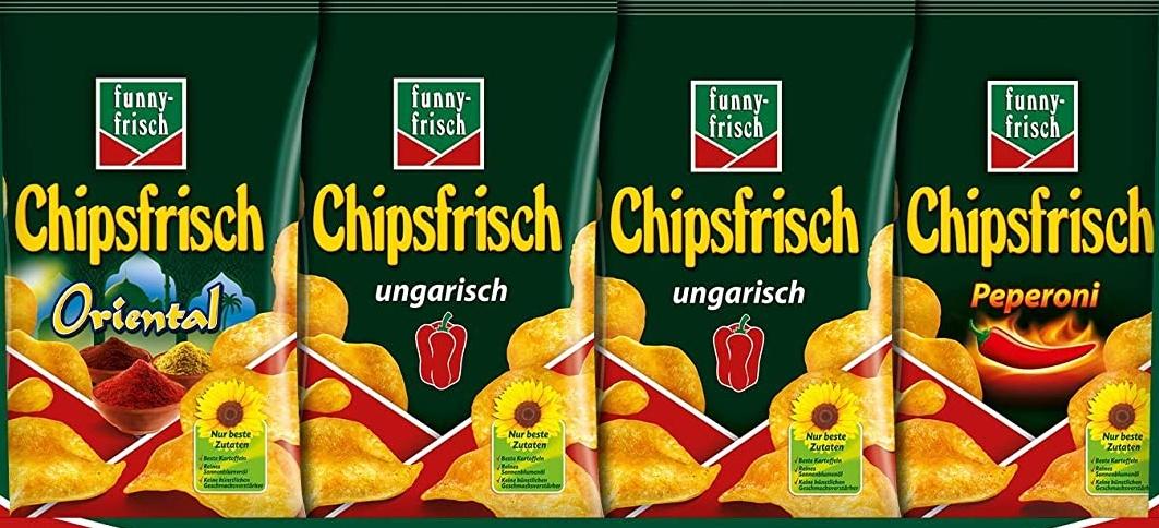 (Netto) Lorenz wäre auch gerne Funny: 175g Funny Frisch Chipsfrisch für 0,86€