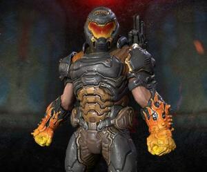 Hotrod-Slayer-Skin und mehr (Loot-Paket 4) kostenlos für DOOM Eternal (PC, PS4 & Xbox One) (Twitch Prime)
