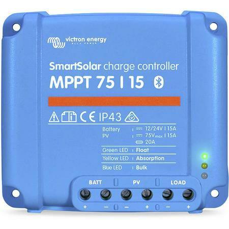 Victron SmartSolar (Bluetooth) 75/15 MPPT Laderegler