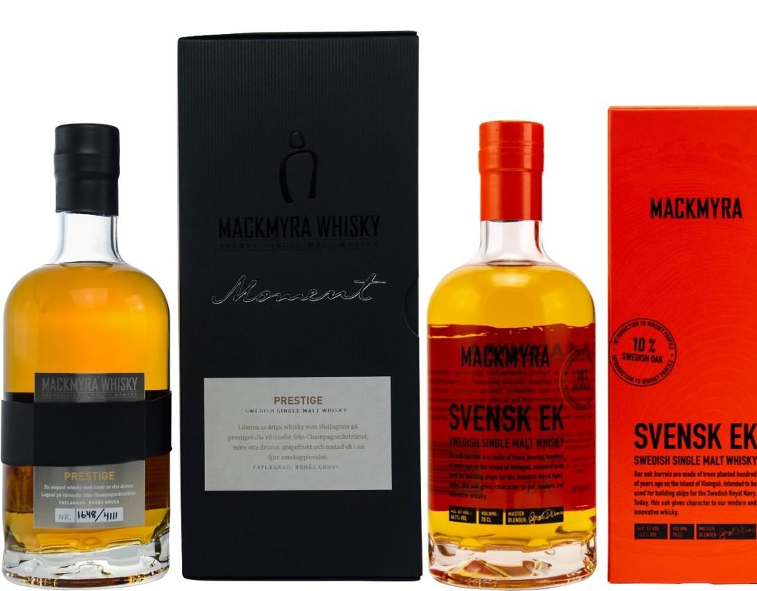 Whisky-Übersicht #40: Mackmyra Sammeldeal, z.B. Moment Prestige Swedish Single Malt 46,1% für 73,79€, Svensk Ek für 37,90€ inkl. Versand