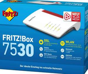 weitere AVM Deals bei Quelle (z.B. Fritzbox 7530 100,90€ - 1260E WiFi Set 118,55€ - 1240E WiFi Set 92,22€)