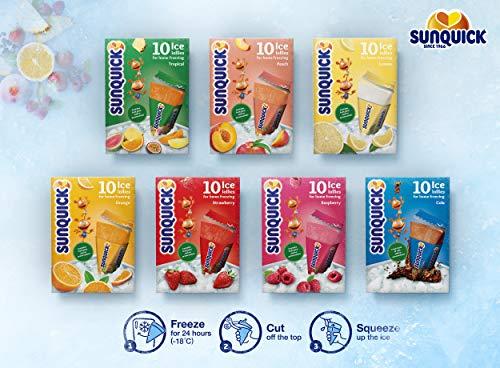Sunquick 120stk Wassereis verschiedene Sorten: z.B. Pfirsich für 9,99