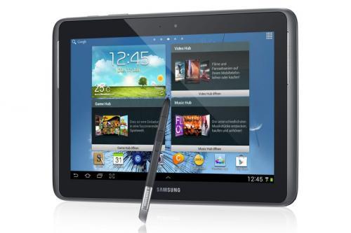 [SCHWEIZ] Samsung Galaxy Note 10.1 N8010, silber/weiß, 320,44€
