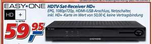 [offline] EasyOne HD Receiver inkl. HD+ Karte @real,-