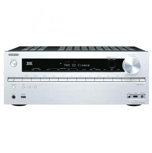 Onkyo Heimkinoreceiver, TX-NR 616, 3D Fähig, WiFi, HDMI, FUll HD, silber