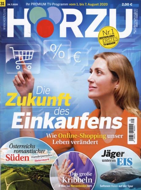 Hörzu Abo (52 Ausgaben) für 114,90 € mit 100 € BestChoice-Universalgutschein inkl. Amazon oder 90 € Scheck