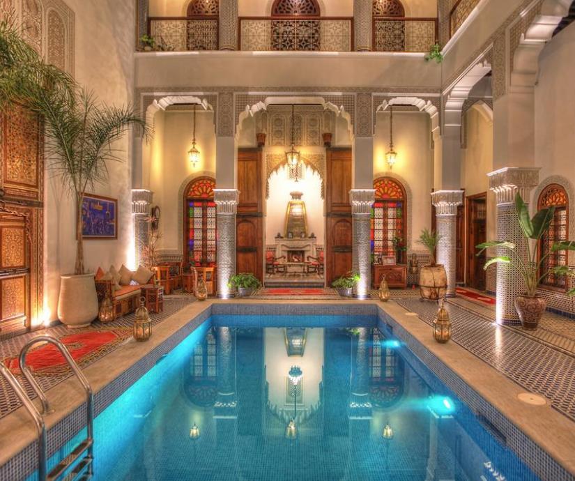 Preisfehler: Fes / Marokko: Doppelzimmer im 5* Hotel Riad El Amine (kostenlos stornierbar) für 7,48 pro Nacht - bis Juli 2022
