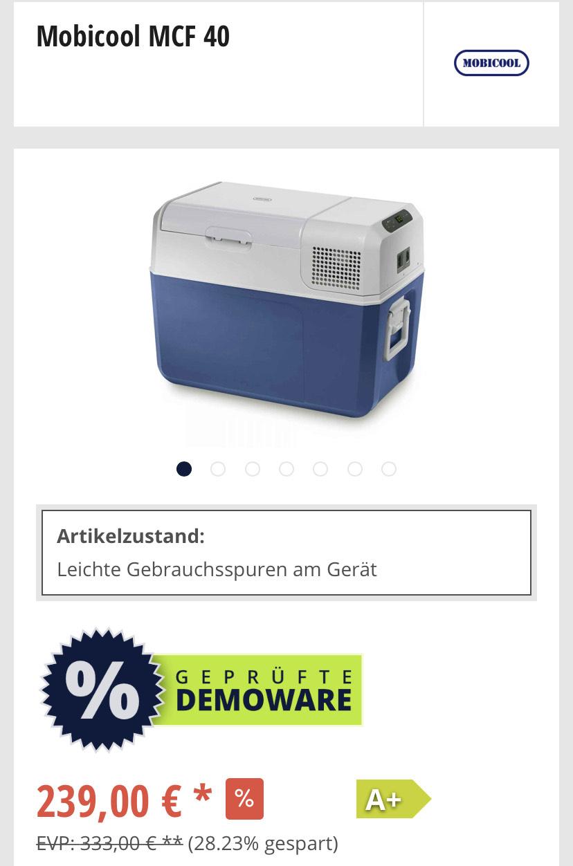 Mobicool MCF 40 - Kompressorkühlbox (Einzelstück?!)