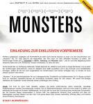 Gewinnspiel - Kostenlos zu Monsters ins Kino