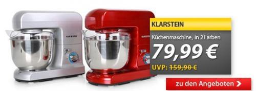 Klarstein Gracia Rossa Küchenmaschine 1000W, 79,99 €, versandkostenfrei