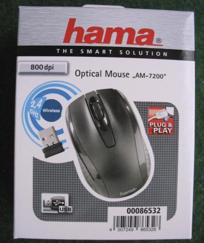 Optische Funkmaus Hama AM-7200 bei Kaufland für 5 €