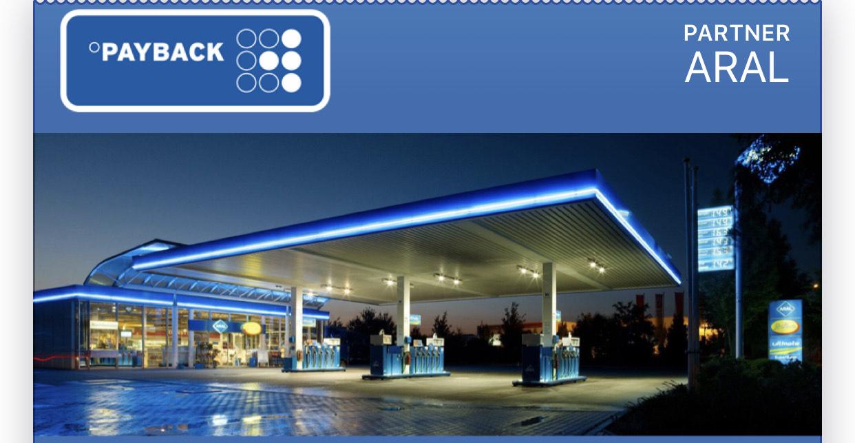 [Payback] 5fach Payback Punkte Coupon auf ARAL Kraftstoffe & Erdgas ( 10 verschiedene )   10fach auf Autowäsche