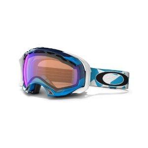 Oakley Herren Skibrille Splice, factory slant jewel blue w/blue iridium
