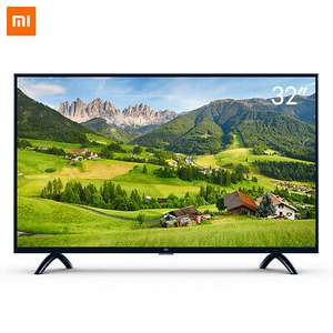 Xiaomi Mi Smart TV 4A 32 Zoll (HD LED Smart TV / Triple Tuner / Android TV 9 / Fernbedienung mit Mikrofon) [eBay]