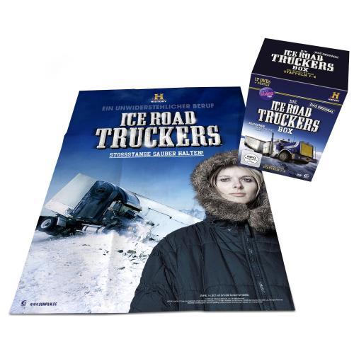 """""""Ice Road Truckers"""" Box limitierte Auflage mit Staffel 1-4 auf 17 DVDs plus Poster für 32,97 Euro inkl. Versand @Amazon"""