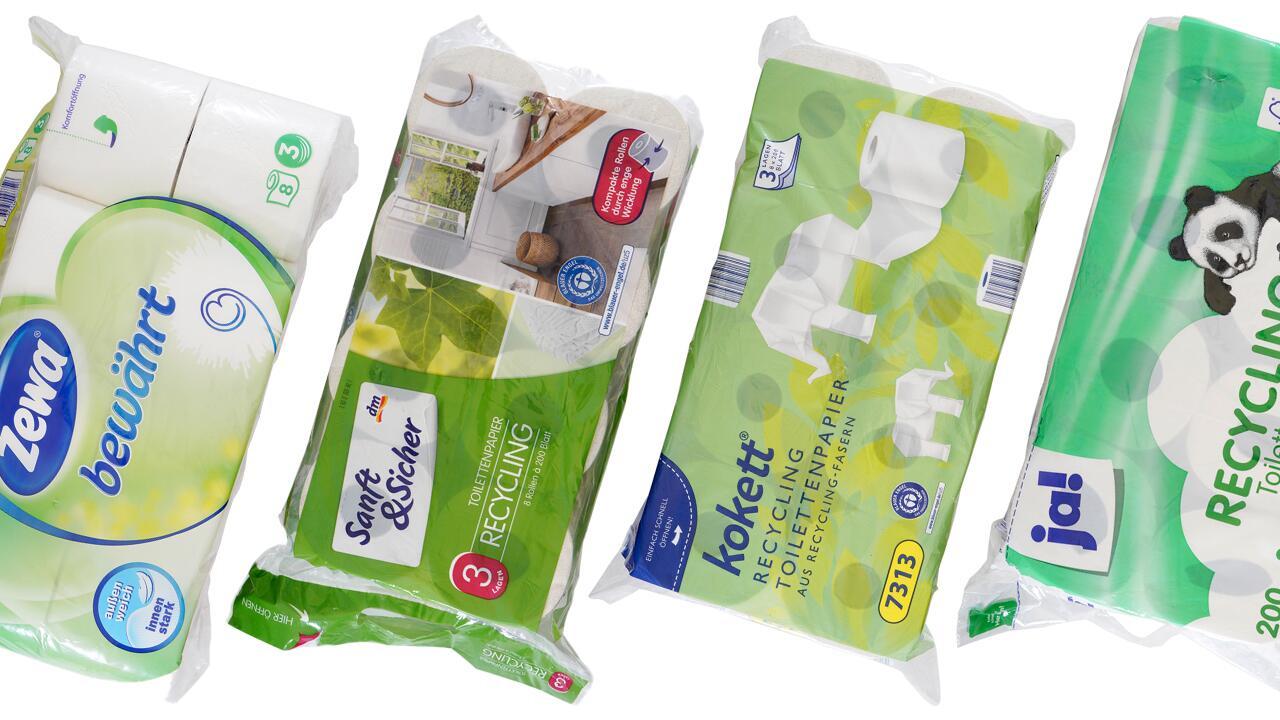 [Öko-Test] Toilettenpapier-Test: Dieses Klopapier ist gut für Klima und Po Jetzt gratis unser Testurteil zu 20 Produkten abrufen!