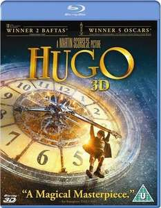 [Amazon.uk] Hugo Cabret (2D+3D) [Blu-ray] -