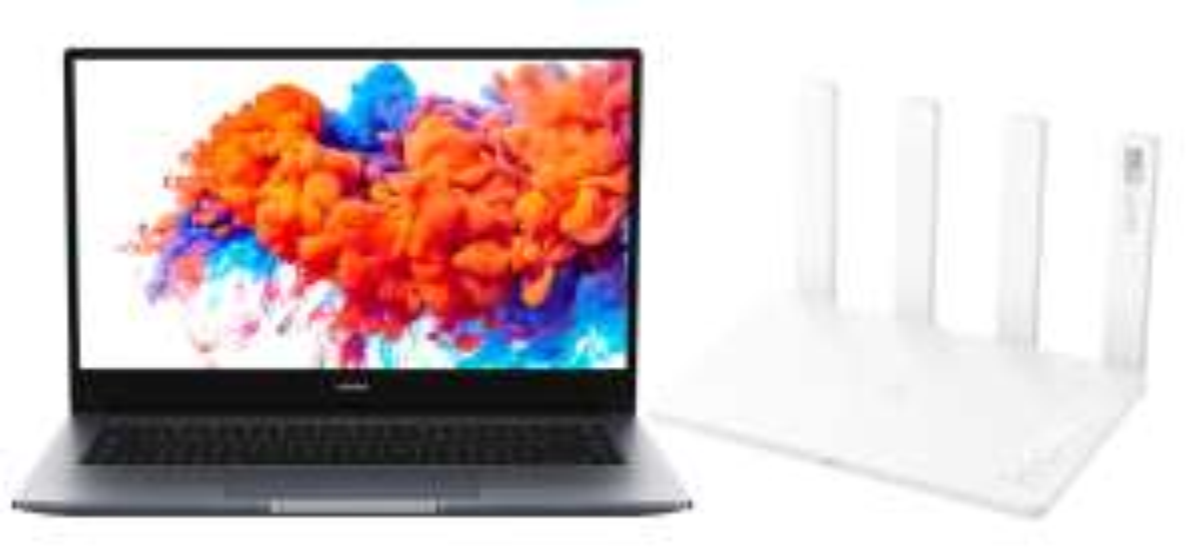 "Honor MagicBook 15 + Honor Router 3 (15"", FHD, IPS, 250cd/m², Ryzen 5 3500U, 8/256GB, USB-C 65W PD, HDMI, 42Wh, 1.53kg)"