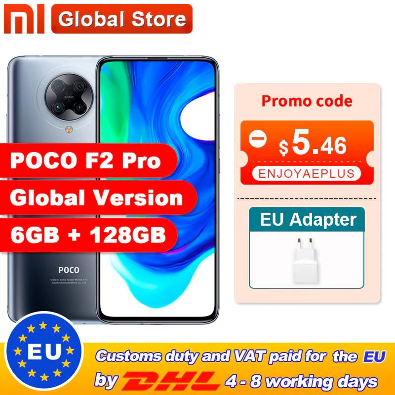Xiaomi POCO F2 Pro 6/128 (SD865, AMOLED, 64MP) für ~334€ aus EU [Aliexpress]