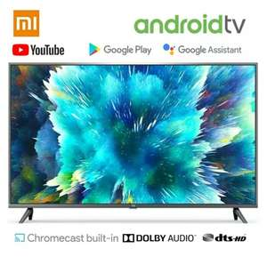 "Xiaomi Mi Smart TV 4S 55"" (4K UHD, Triple Tuner, Android TV 9.0, Fernbedienung mit Mikrofon, Prime Video / Netflix) - Versand aus DE"