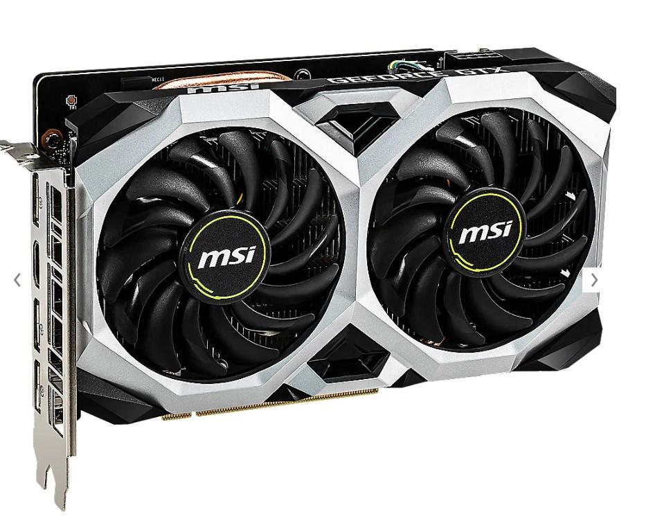 MSI GeForce GTX 1660 Ventus XS 6G OC 6GB GDDR5 Grafikkarte (-14,24€)
