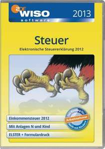 WISO Steuer 2013 für 12,95 inkl. VSK @ voelkner.de