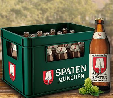 Spaten - Münchener Hell die Kisten Bier 20x0,5l im Angebot bei Marktkauf & Edeka Center Region Südwest