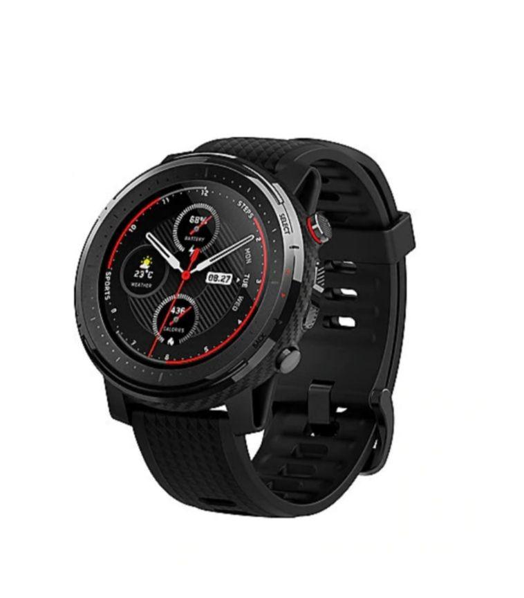 Amazfit Stratos 3 Smartwatch schwarz