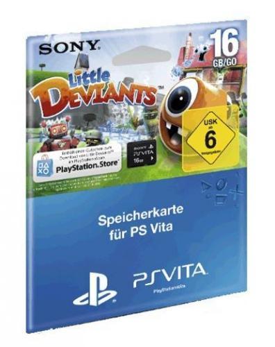 PS Vita Speicherkarte 16gb (evtl. mit Little Deviants) für 29,99 bei OTTO mit Neukundengutschein