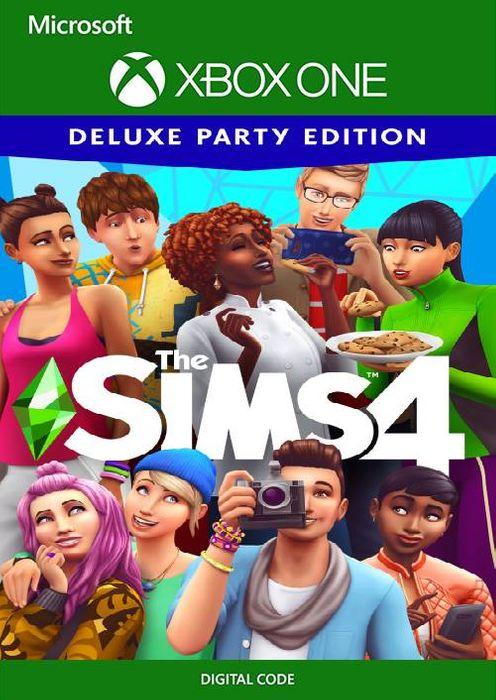 Die Sims 4 Deluxe Party Edition (Xbox One Digital Code) für 4,49€ (CDkeys VPN US)