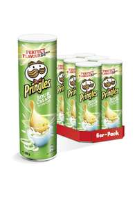 Pringles Sour Cream & Onion Chips | 6er Party-Pack (6 x  200g) Prime
