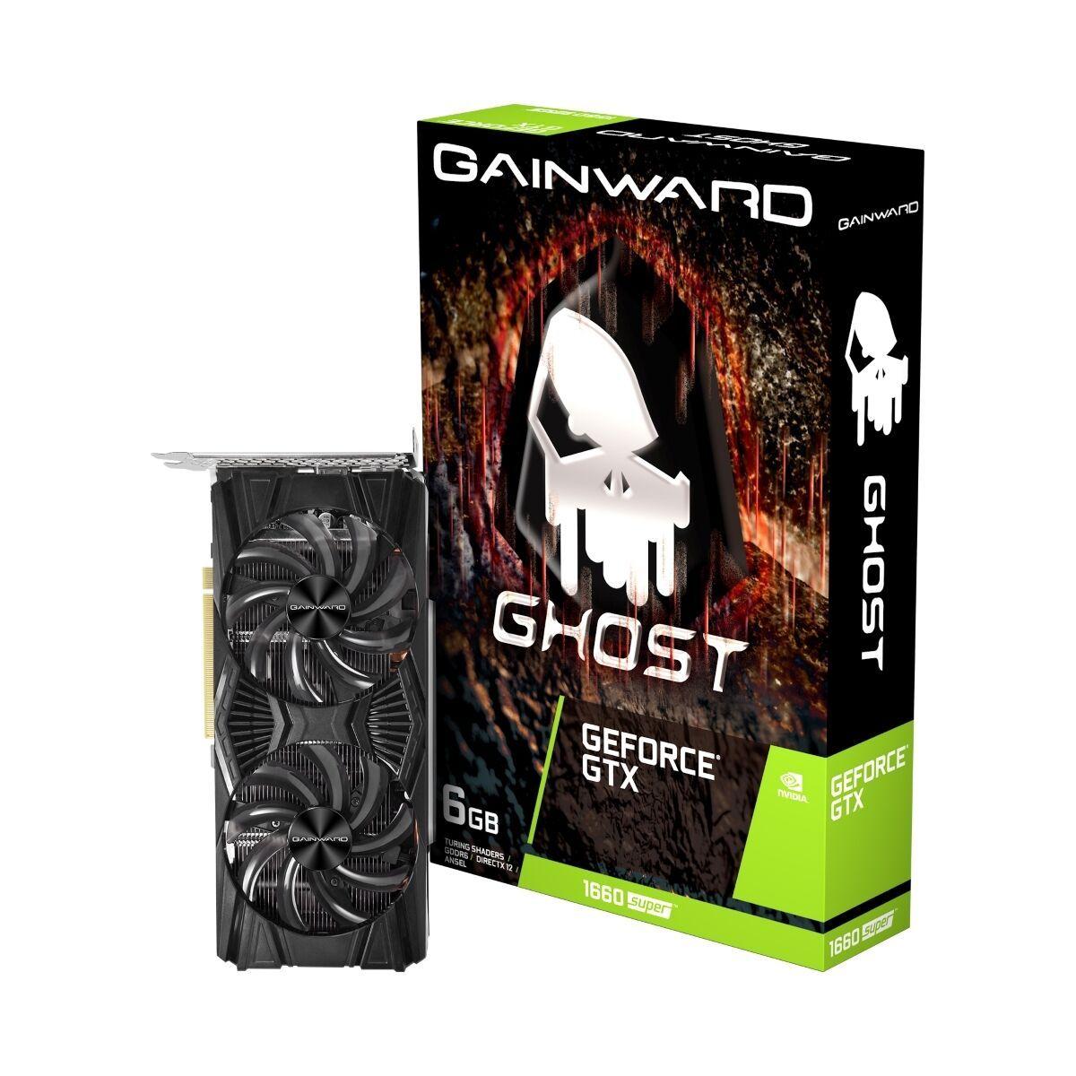 Gainward GeForce GTX 1660 SUPER Ghost6GB GDDR6 Grafikkarte - DisplayPort/HDMI/DVI [NBB]